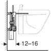 Kép 4/4 - Geberit Kombifix bidé szerelőelem, univerzális (457530001)