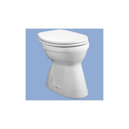 Alföldi Bázis lapos öblítésű WC alsó kifolyású, Easyplus bevonattal 4037 00 R1