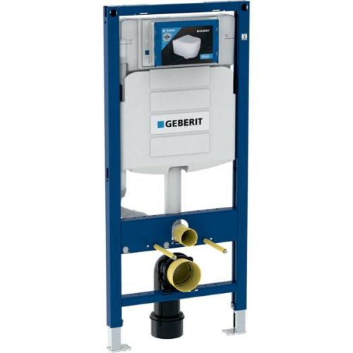 Geberit Duofix fali WC szerelőelem, 112 cm, Sigma 12 cm-es falsík alatti öblítőtartállyal 111.300.00.5