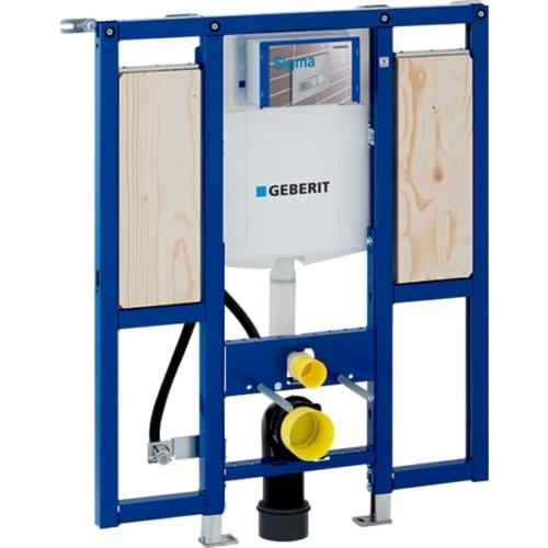 Geberit Duofix fali WC szerelőelem, 112 cm, Sigma 12 cm-es falsík alatti öblítőtartállyal, akadálymentes, kapaszkodókhoz (111375005)