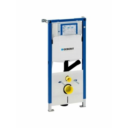 Geberit Duofix fali WC szerelőelem, 112 cm, Sigma 12 cm-es falsík alatti öblítőtartállyal, csatlakozócsonkkal szagelszíváshoz 111.367.00.5