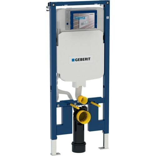 Geberit Duofix fali WC szerelőelem, 114 cm, Sigma 8 cm-es falsík alatti öblítőtartállyal (111796001)