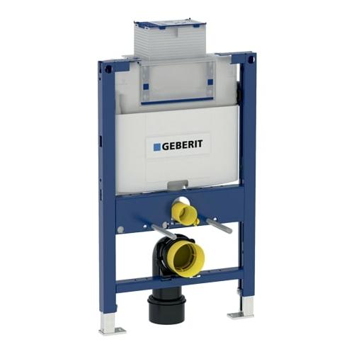 Geberit Duofix fali WC szerelőelem, 82 cm, Omega 12 cm-es falsík alatti öblítőtartállyal (111003001)