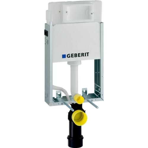 Geberit Kombifix Basic fali WC szerelőelem, 108 cm, Delta 12 cm-es falsík alatti öblítőtartállyal (110100001)