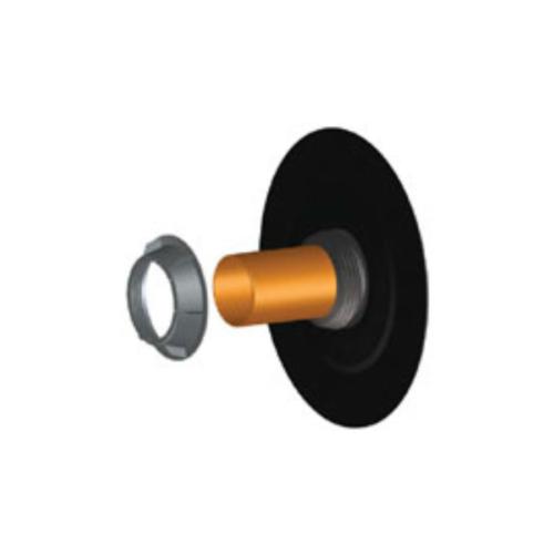 HL 800/160 faláttörés szigetelő, ajakos tömítéssel, bitumengallérral, 160mm