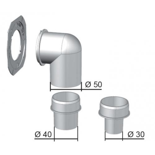 Helios ELS-WCS WC csatlakozó készlet ELS-hez